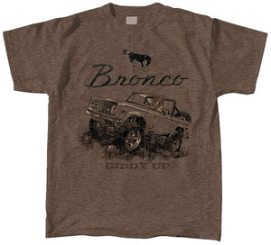 Ford Bronco Tonal Adult Short Sleeve T-Shirt