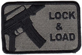 Lock & Load M16 Morale Patch - Various Colors