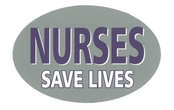 Nurses Save Lives Magnet