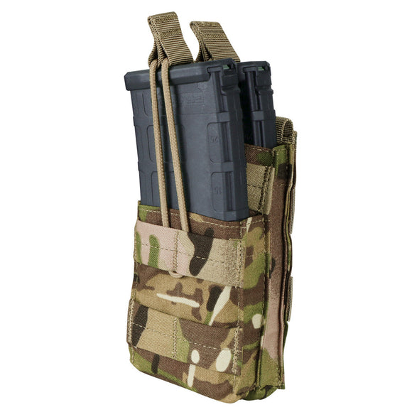 Condor Stacker M4 Open-Top Mag Pouch Single Multicam