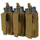 Condor Kangaroo Mag Pouch Coyote Brown Triple