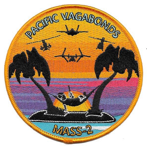 MASS-2 USMC Patch - PACIFIC VAGABONDS