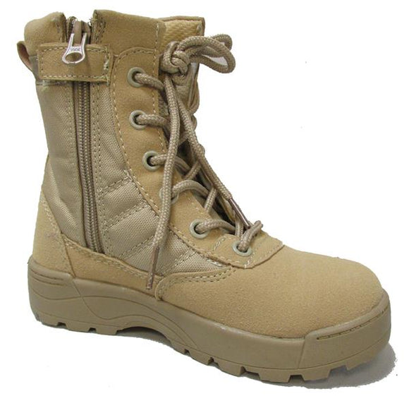 Military Uniform Supply Military Toddler Boots - DESERT TAN