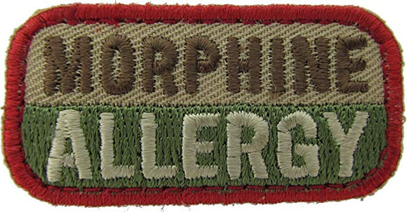 MORPHINE ALLERGY Patch - MULTICAM OCP