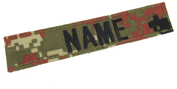Digital Mountain Stalker Name Tape with Hook Fastener