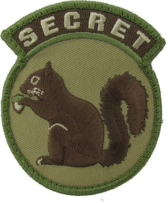 Secret Squirrel Morale Patch - Mil-Spec Monkey