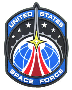 United States Space Force Morale Patch - PVC Mil-Spec Monkey