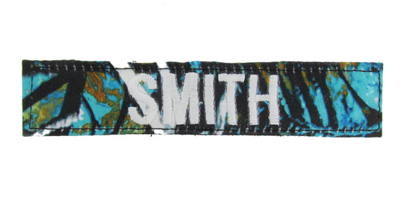 Muddy Girl Serenity Camo Name Tape - Hook Fastener