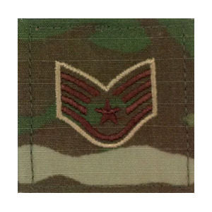 U.S. Air Force OCP Rank with Hook - Spice Brown