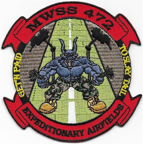 MWSS 472 Expeditionary Airfields USMC Patch