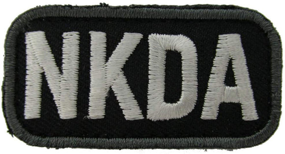 NKDA ALLERGY Patch - BLACK