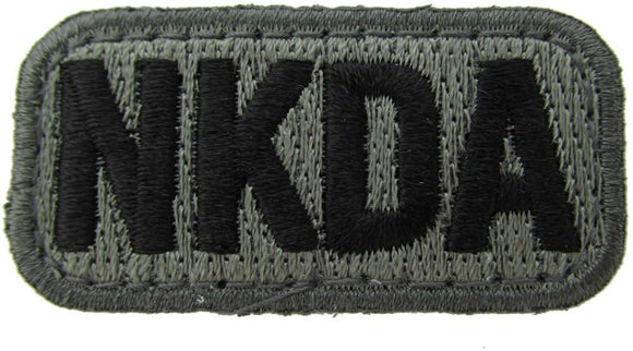 NKDA ALLERGY Patch - FOLIAGE GREEN
