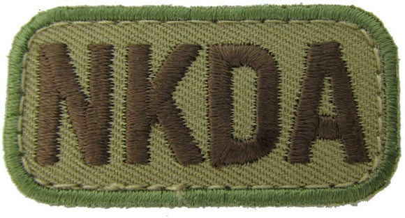 NKDA ALLERGY Patch - MULTICAM OCP