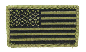 U.S. Army OCP Flag Patch - FORWARD Facing