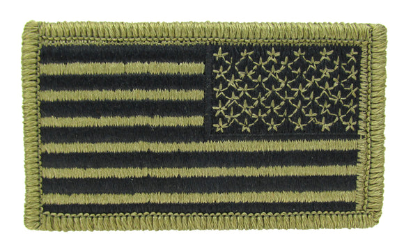 U.S. Army OCP Flag Patch - REVERSE Field