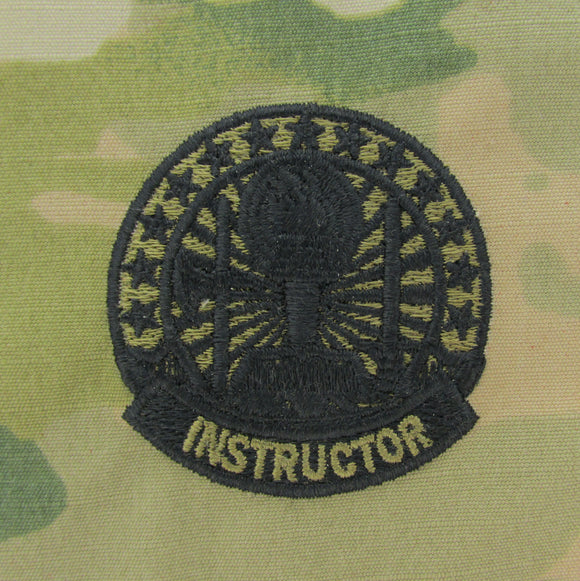 Instructor - ARMY Occupational OCP Qualification Badge