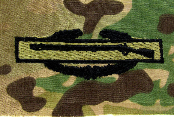 Combat Infantry Badge (CIB) OCP Qualification Badge