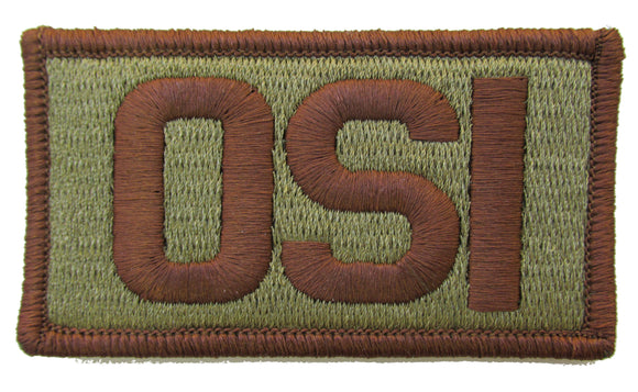 Air Force OSI OCP Patch Spice Brown - Office of Special Investigations