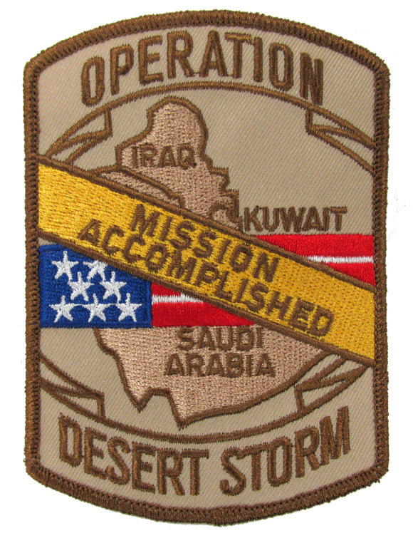 Missioned Accomplished - Operation Desert Storm Patch