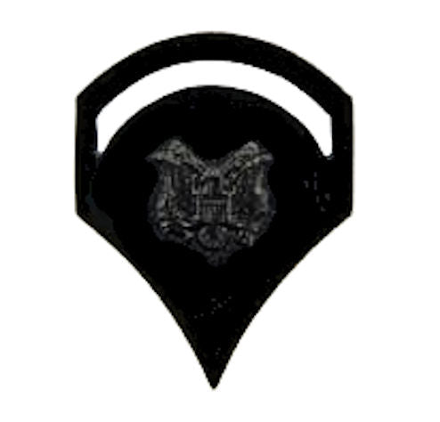 U.S. Army Rank - Specialist E-5 Rank Pin - SUBDUED