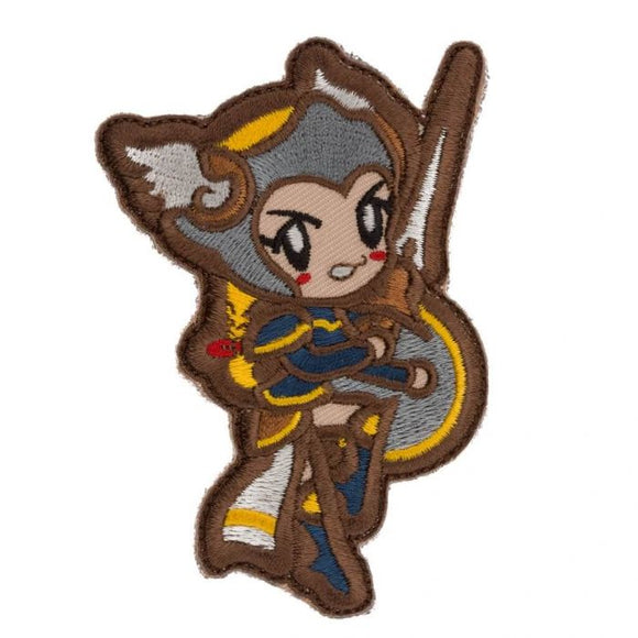 Cute Valkyrie Morale Patch - Mil-Spec Monkey