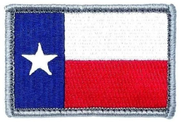 Texas Flag Patch with Hook Fastener