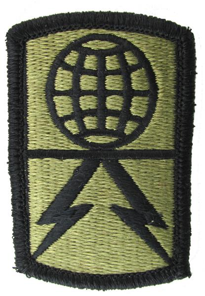 1108th Signal Brigade OCP Patch - Scorpion W2