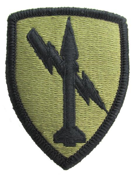 1st Missile Command OCP Patch - Scorpion W2