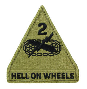 2nd Armored Division OCP Patch - Scorpion W2