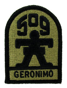 "509th Infantry ""Geronimo"" OCP Patch - Scorpion W2"