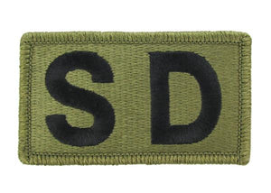 SD (Staff Duty) Brassard OCP Patch - Scorpion W2