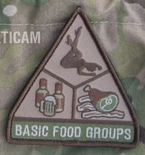 Basic Food Groups Morale Patch - Mil-Spec Monkey