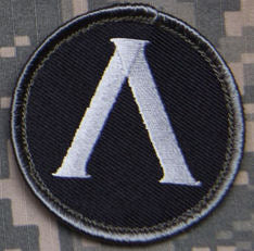 Lambda Shield Morale Patch - Mil-Spec Monkey
