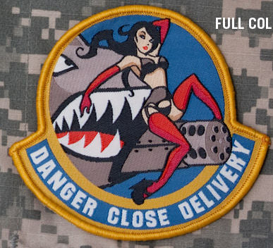 Danger Close Delivery Morale Patch - Mil-Spec Monkey