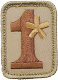 1 Assterisk Morale Patch - 1 Ass to Risk Patch