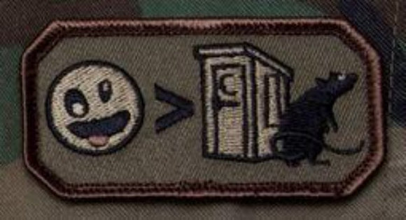Crazier Than Morale Patch - Mil-Spec Monkey