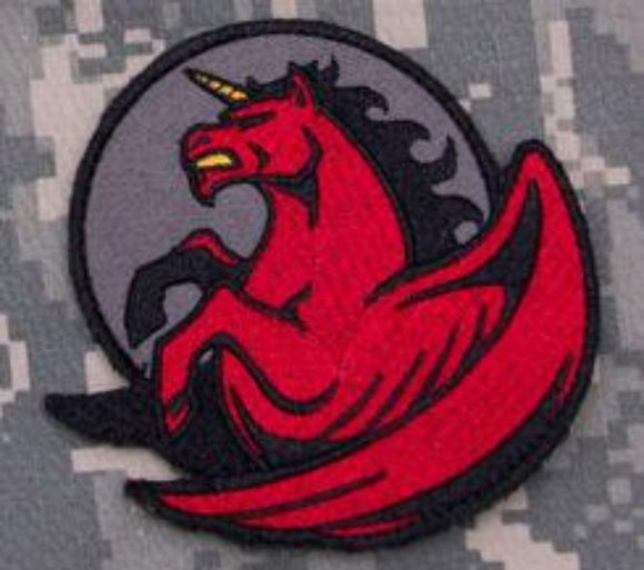 Pegasus Unicorn Morale Patch with Hook Fastener