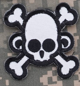 Skull Monkey with Crossbones Morale Patch - Mil-Spec Monkey