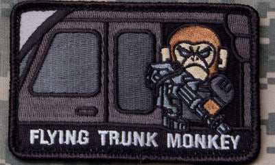 Flying Trunk Monkey Morale Patch - Mil-Spec Monkey