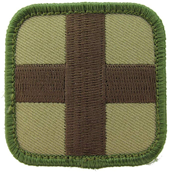 Medic Square Patch - with Hook Fastener