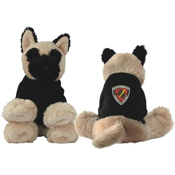 Military Working Dog Stuffed Plush Dog