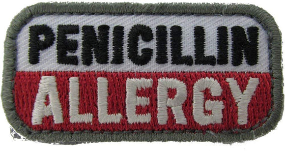 PENICILLIN ALLERGY Patch - MEDICAL