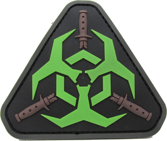 Zombie Outbreak Response Team Patch - PVC with Hook Fastener