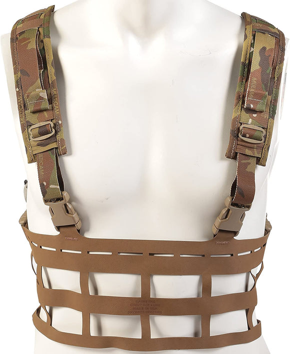 Raine Vector Lightweight MOLLE Chest Rig - Made in U.S.A.