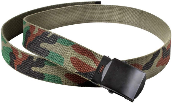Rothco Camo Reversible Web Belt with Buckle