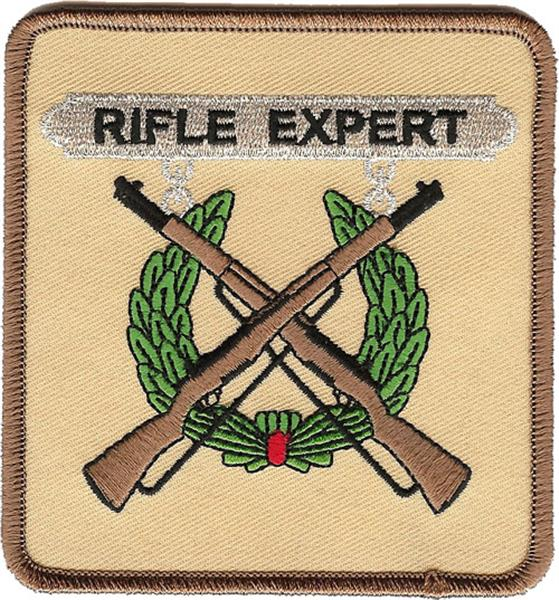 Rifle Expert USMC Patch
