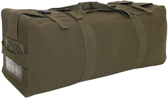 Rothco G.I. Type Enhanced Canvas Duffle Bag