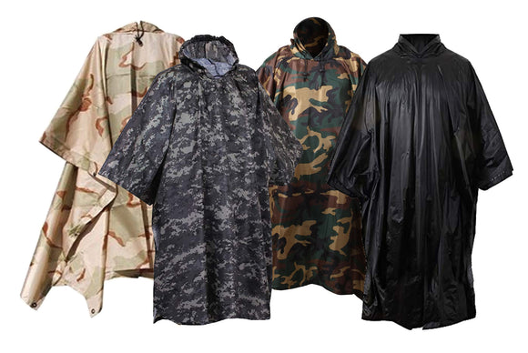 Rothco G.I. Type Military Ripstop Poncho