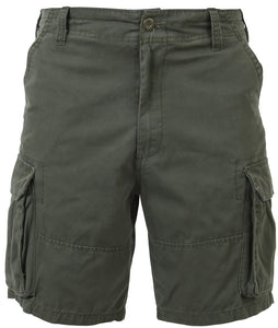 Rothco Vintage Solid Paratrooper Cargo Short - Olive Drab