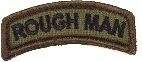 Rough Man Tab Morale Patch - Mil-Spec Monkey